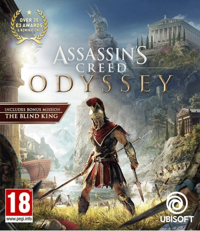 Прокат игры Assassin's Creed Odyssey на ПС4 и ПС5