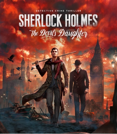 Прокат игра на PS4 -  Sherlock Holmes: The Devil's Daughter (аренда аккаунта)